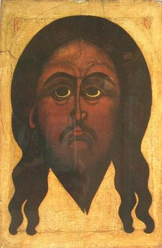 The Holy Face (The Vernicle) icon, 16th century (post-Byzantine)