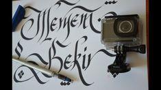 calligraphy with actioncam - Abdurrahman Cesaret - aksiyon camerası - Ac...