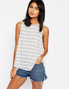 ASOS | ASOS Swing Tank In Stripe at ASOS