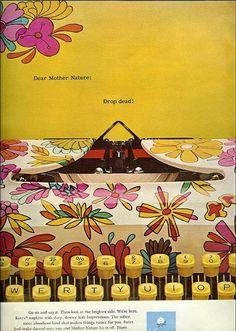 From Seventeen, Nov. 1969, Kotex ad