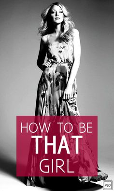 How to Be THAT Girl | Progression By Design