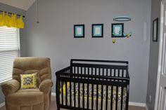 Project Nursery - closer look at crib