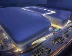 Marina Mall | Doha, Qatar | The design of Marina Mall supports Doha's vision for a vibrant, community-oriented lifestyle for the Lusail waterfront development and its 19 mixed-use districts.
