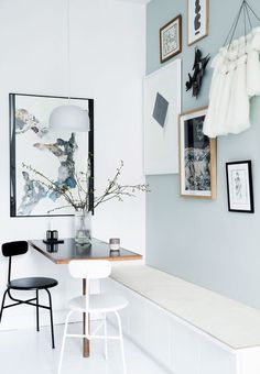 Menu Afteroom Chair - White – Is To Me - home of Mette Helena Rasmussen | photos by Tia Borgsmidt
