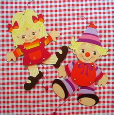 Mertens Kunst Antonia & Alfons   Two lovely Jumping Jacks ma…   Flickr Puppet Crafts, Jumping Jacks, Puppets, Pikachu, Minnie Mouse, Disney Characters, Fictional Characters, Art, Home Ideas