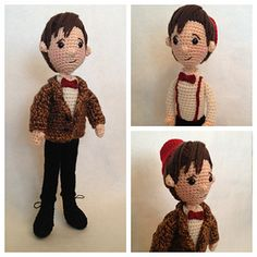 Ravelry: Eleventh Doctor Who Amigurumi Pattern pattern by Allison Hoffman