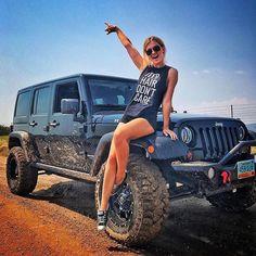 Just Jeep stuff that I like. Jeep 4x4, Jeep Truck, Jeep Willys, Trucks And Girls, Car Girls, Jeep Wrangler Rubicon, Jeep Wrangler Unlimited, Jeep Wranglers, Jeep Baby