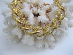 Napier Goldtone Necklace Chunky Vintage by GotMilkGlassAndMore, $10.88 #vjse2 #vintage #jewelry