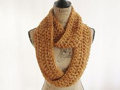 Ready To Ship Burnt Orange and Ivory by SouthernStitchesCo on Etsy, $24.00