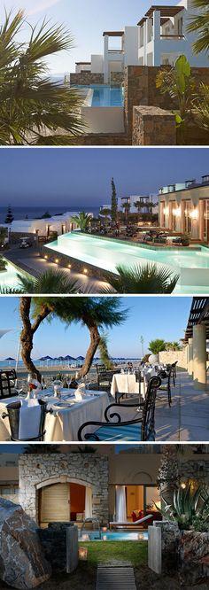 Met zijn tweeën in alle rust en luxe genieten van een romantische Griekse vakantie? Sensimar Elounda Village op Kreta beschikt over een adults only formule en de mogelijkheid om all inclusive te verblijven.