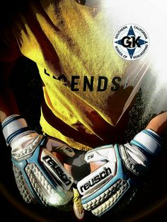 Training with SCSG and wearing Reusch gloves...How can you go wrong?