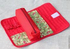 Шьём практичный текстильный пенал в технике лоскутной мозаики - Ярмарка Мастеров - ручная работа, handmade