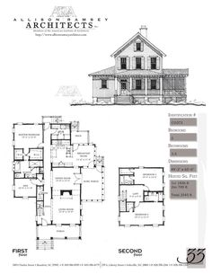 The Mathes II - Allison Ramsey Architects - House Plans in All Styles for All Regions 2540