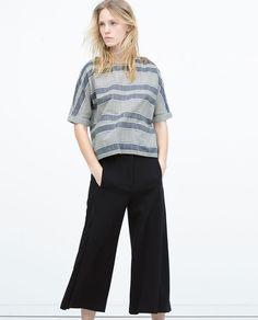 Image 2 of FRONT PLEAT SKORT from Zara