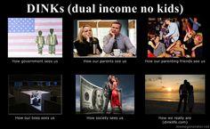 Dual Income no Kids (DINK)
