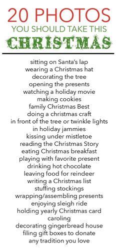 Christmas photos to take. [Bower Power]