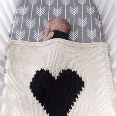 Charcoal Arrows Fitted Crib Sheet