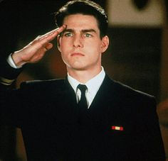 Tom Cruise - A Few Good Men - one of my favorite movies - saw it at least 10 times!!