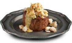 Crab Topped Bernaise Filet