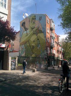 Gigante verde. Villaverde (Madrid).