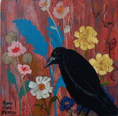No Ordinary Day Crow Art Reproduction by RobinMariaPedrero on Etsy