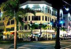 View of downtown Punta Gorda, Florida at night. Executive Cooling & Heating - Google+