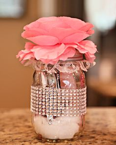 Wedding game prize ~ manicure in a jar
