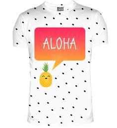 Aloha t-shirt, Mr. GUGU & Miss GO
