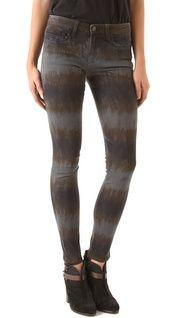 J Brand Large Floral Print Skinny Jeans | SHOPBOP