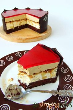 Best Pastry Recipe, Pastry Recipes, Cake Recipes, Dessert Recipes, Pasta Cake, Caramel Pears, Sweet Cakes, Something Sweet, Homemade Cakes