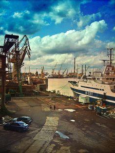 shipyard in #Gdansk  by ilonanowak  #ilovegdn