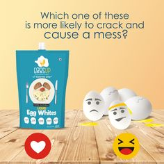 Show us some reactions, people!  You know it. #EggsUp is the better choice with added #HealthBenefits and a promise of goodness. Try it now!  Available at Bigbasket: http://bit.ly/2opMtpe