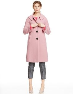 Eliza Coat WE449 Coats at Boden