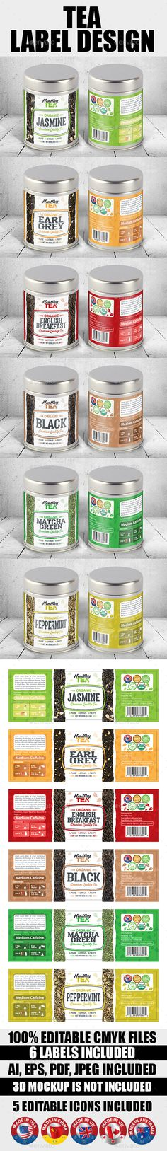 Supplement Label Template Vol-05 Label templates, Print - package label template
