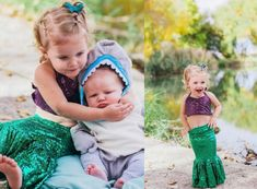 This mermaid kids Halloween costume is simply amazing! Check out the post for creative costume ideas and awesome Halloween costume inspiration!