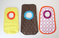 TUTORIAL and Free Pattern: Placemat Bibs | MADE