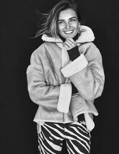 There are some great pieces in this Isabel Marant fall story in Elle France. The sweaters look especially good.