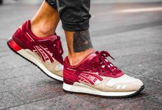 Asics Gel Lyte 3 Gradient Burgundy