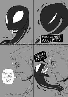 Venom Comics, Marvel Venom, Marvel Avengers, Marvel Comics, Venom Art, The Venom, Marvel Funny, Marvel Memes, Venom Dragon