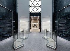 balenciaga flagship boutique in soho by Alexander Wang