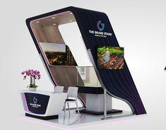 Johari Zein Mosque on Behance Exhibition Stand Design, Exhibition Booth, Galaxy S8, Samsung Galaxy, Corner Booth, Note 7, Grand Homes, Signage Design, 3ds Max