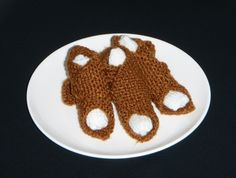 Knitted brandy snaps