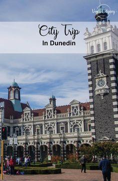 City trip in Dunedin Formations Rocheuses, Ainsi, Motifs, Big Ben, Street Art, City, Building, Travel, Wales