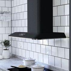 Franken Retro liesikupu saatavilla myös grafiitin värisenä. Yhdistelemällä eri värisen tuulettimen ja putken, voit luoda haluamasi värikokonaisuuden. #franke #frankeretro #retro #liesituuletin #keittiö #kitchen #design #decoration #sisustus #koti #home #yritysmyynti