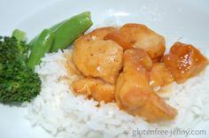 Gluten Free Crockpot Orange Asian Chicken | Gluten free-jenny.com
