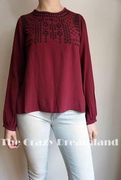 Zaful |  Camisa Étnica