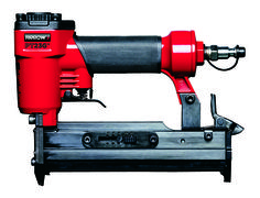 The pro or DIY dad in your life will love the Arrow Pneumatic Pin Nailer (PT23G)! This pin nailer fires a very thin 23 gauge headless pin nail that barely makes a mark on the wood surface so it is typically used for finish woodwork on thinner pieces of wood and molding. www.arrowfastener.com