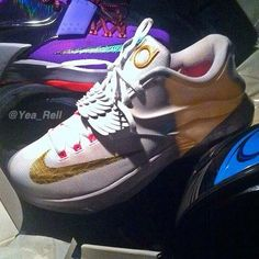 online retailer c73cc ad47d Nike KD 7  Aunt Pearl  - First Look Kd Shoes, Shoes Sneakers,