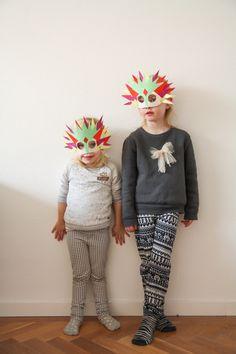 DIY - Make your own mask - www.petitloublog.com