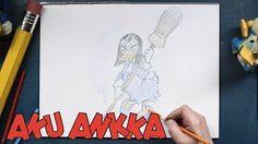 Aku Ankan piirrustuskoulu: Milla Magia.  Opettele piirtämään Milla Magia videon avulla.